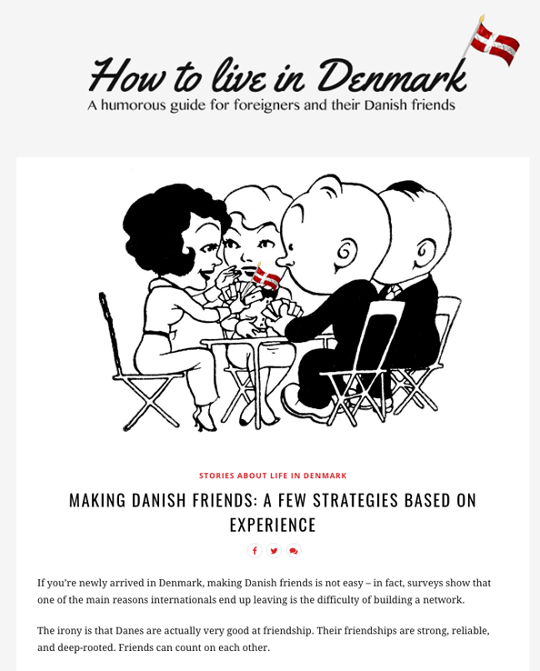 How to live in Denmark Project